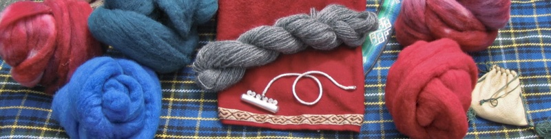 Spinning, weaving and other textiles